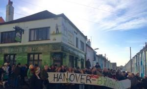 Hanover - local pub closure